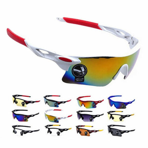 Unisex Adul'ts Cycling Glasses Outdoor Mountain MTB Motorcycle Bicycle
