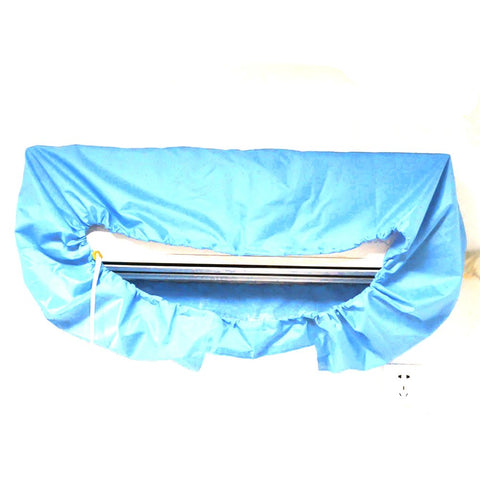Waterproof Air Coniditioner Cleaning Cover for DIY Household Cleaning PEVA Material