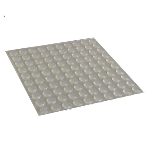 100pcs/Sheet Adhesive Silicone Semicircle Feet Clear Anti Slip Bumper Damper Shock Absorber Pads Furniture Pad