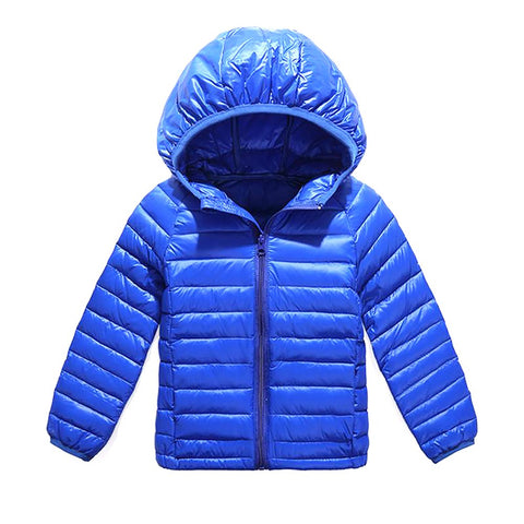 DIL'UFENbrand 90% Duck Feather Ultra Light Boys Girls Children's Autumn Winter Jackets Baby down Coat Jackets Outerwear