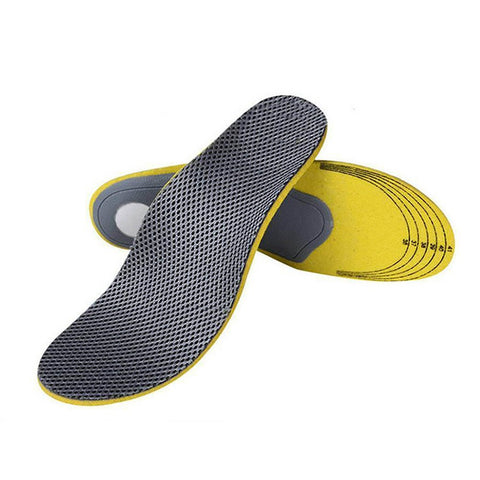 Unisex Adult's Shoe Insoles Sweat Deodorant Damping Arch Support Insert Cushion Wear-resistant Breathable