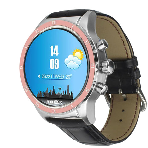 Unisex Android Smart Watch with Sim Slot Bluetooth Wifi GPS Intelligent Wristwatch