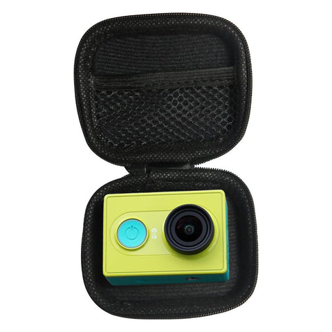 Portable Mini Box Xiaoyi Bag Black Camera Case For Xiaomi Yi 4K Eken H9 Gopro Hero 5 4 3 SJCAM SJ4000 C30 Go Pro Accessories