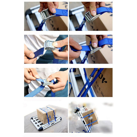 Luggage Strap 500x25cm Tension Rope Fixed Cargo Tie