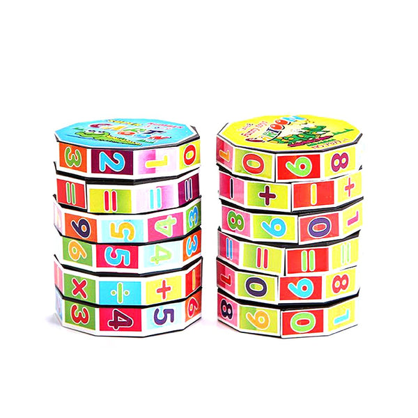 1 Pcs Learning Education Mathematics Digital Intelligence Arithmetic Math Toys for Children Kids Teaching Aids Puzzle Cube