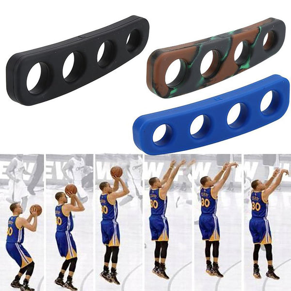 1pcs 3 Colors Silicone Shot Lock Basketball Ball Shooting Trainer Training Accessories Three-Point Size for Kids Adult Man Teens