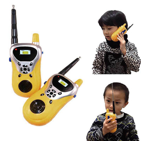 2pcs Intercom Electronic Walkie Talkie Kids Child Mni Toys Portable Two-Way Radio Children Toy Talkies YH-17