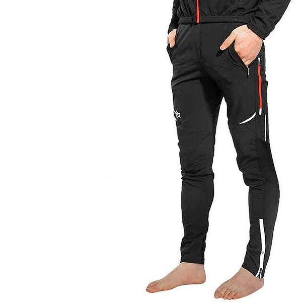 ROCKBROS Cycling Bicycle Sports Pants Multifunction Sportswear Bike Reflective Tights Cycle Clothing Long Trousers