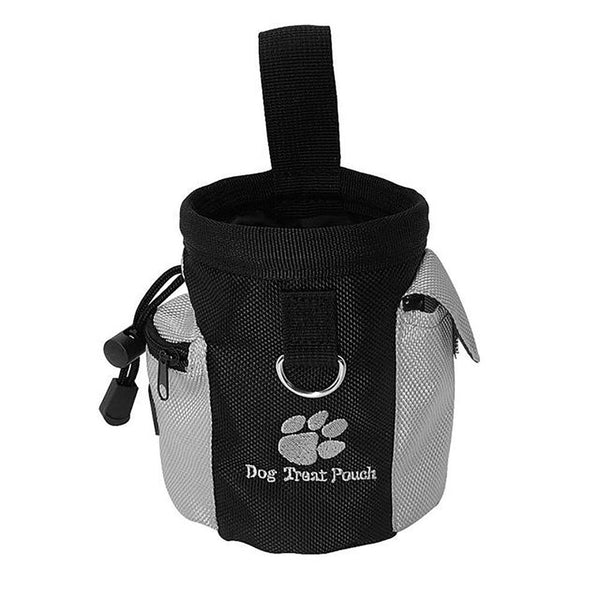 Pet's Pouch Built -in Poop Food Dispenser Snack Reward Waist