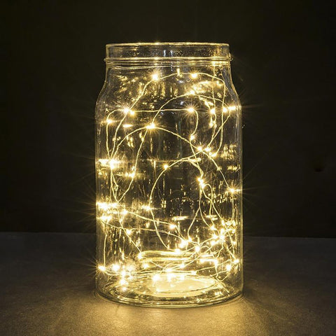 Starry String Lights Micro LED Copper Wire Battery Decoartion Warm for Holiday Wedding Christmas