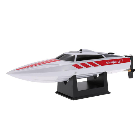 Racing Boat Remote Control 2.4GHz Brushed 30km/h High Speed Pool RTR
