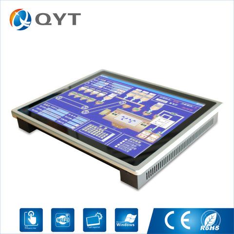 "Intel N3150 19"" Industrial Compouter Capacitive Touch Screen Pc 1280x1024 Embedded PC with 1.6GHz 2GB DDR3 32G SSD"
