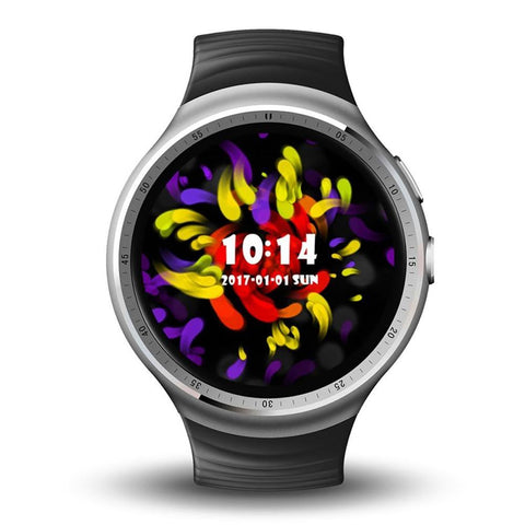 Original LEMFO LES1 1.39 Inch AMOLED Touch Screen Android 5.1 MTK6580 1GB / 16GB Smart Watch Phone with 2.0 MP Camera
