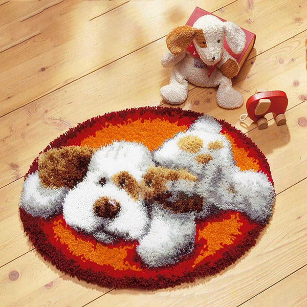 Pet's Cushion Mat Latch Hook Needlework