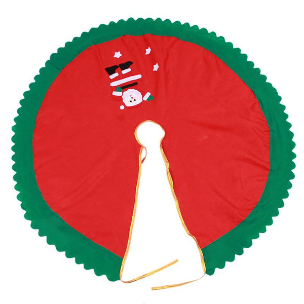 Santa Claus Tree Skirt 90cm Christmas Decoration