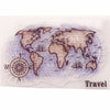 Stamp Sea Animal Vintage Travel Transparent Halloween Clear Stamps Christmas Seal for DIY Scrapbooking Decorative 14*18cm