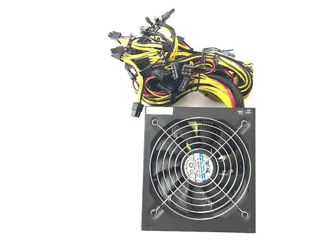 KUANGCHENG ETH ZCASH Gold POWER 1800Wuse for R9 380 RX 470 6GPU Card Antminer L3 S9 Baikal X11 Asic BTC Litecoin MINER