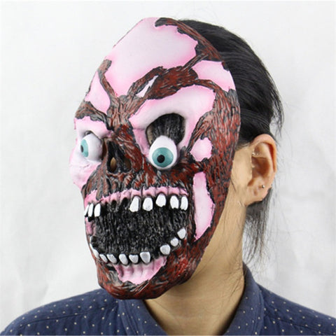 7 Type Masquerade Masks Halloween Mask Scary Child's Play Latex Realistic Crazy Rubber Creepy Party Costume