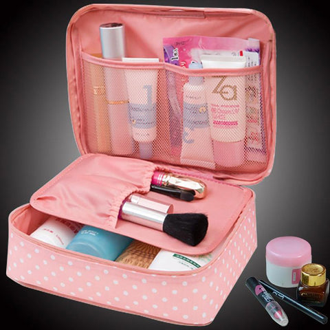 Women's Makeup Pouch Organizer Toiletry Beauty Storage Travel Wash