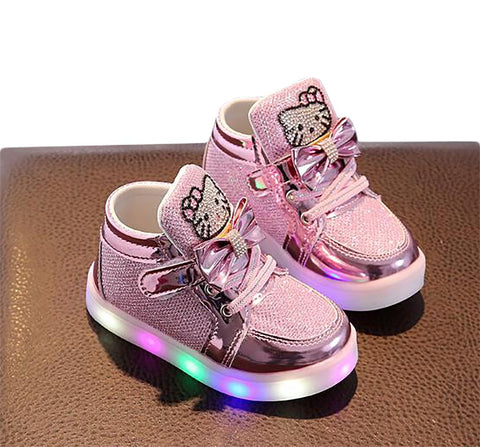 Unisex Children's Luminous Sneakers Running Flashing Lights LED