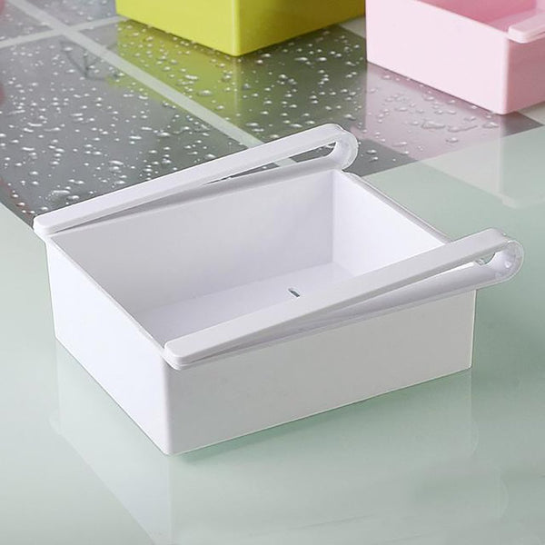 Refrigerator Storage Box Creative Fresh Spacer Layer 16.5*15cm