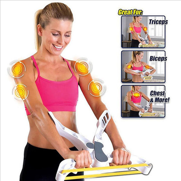 Drop Shipping 2017 New WONDER ARMS Arm Strength Brawn Training Device Forearm Wrist Exerciser Force Fitness Equipment