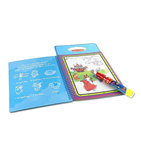 1 Pcs New Arrives Intimate Coloring Magic Water Drawing Book with Pen for Kids 1392