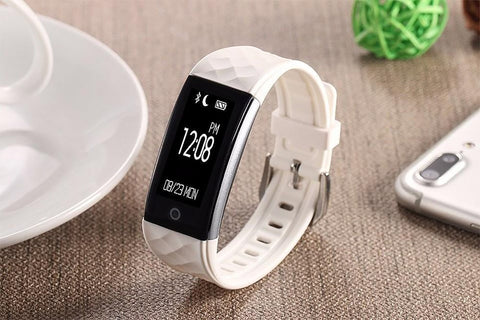 Unisex Wirst Smartband Bracelet Heart Rate Monitor Waterproof Bluetooth for Android IOS Phone