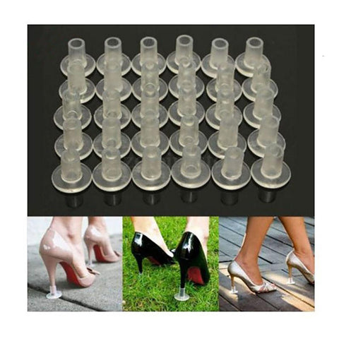 1 Pairs High Heel Protectors Latin Stiletto Dancing Covers Stoppers Antislip Silicone Heeler For Wedding Favor Soft