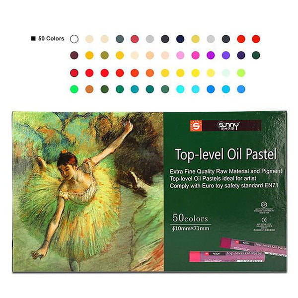Sunny Top Level Oil Pastel Chalks Kidscrayons Art Pen Cheap Drawing Painting for Children Free Shipping