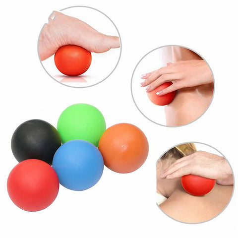 Gym Ball Massage Therapy Fitness Trigger Point Body Exercise Muscle Relax Relieve Fatigue Roller Yoga Sport
