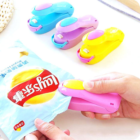 Portable Mini Heat Sealing Machine Ceramic Impulse Plastic Bag Sealer