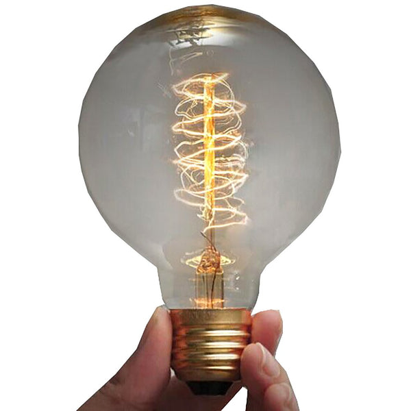 220V 40W Vintage Pendant Light Incandescent Bulbs E27 Retro Antique Filament Lampada Edison ST64 G80 Decorative Lamp