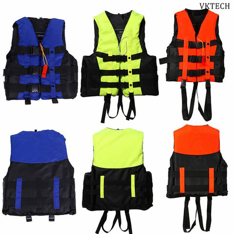Unisex Adult's Vest Jacket for Water Sports Swimming Survival
