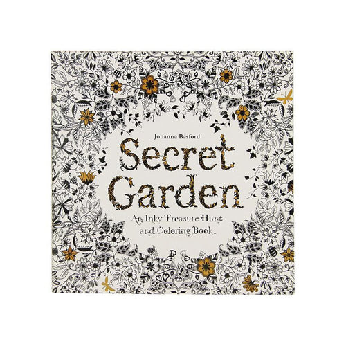 - 24 Pages Secret Garden English Edition Coloring Book For Children Adul –  Watch Whole