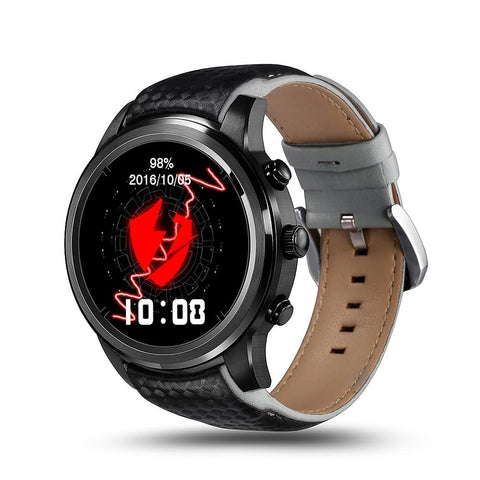Lemfo LEM5 Smart Watch 1.39 Inch 400*400 Screen Android 5.1 Support SIM Card Bluetooth WIFI GPS Heart Rate Smartwatch Waterproof