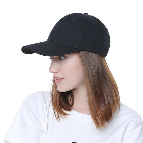 Unisex Adult's Baseball Cap Adjustable Casual Solid Snapback