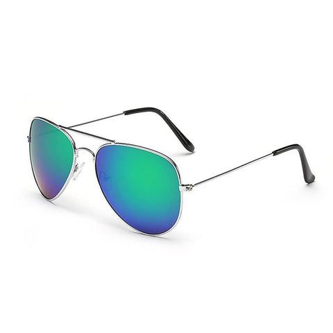 Unisex Sunglasses Pilot Aviator Hiking Coating Mirror