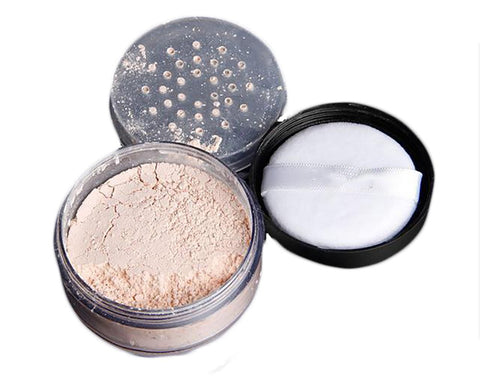 Translucent Powder Makeup Long Lasting Oil-control Natural Ingredients Setting Brighten Waterproof