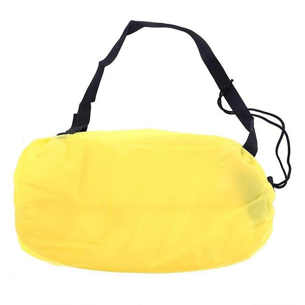 240*70cm Inflatable Lazy Bag Air Banana Sofa 190T Nylon Laybag Camping Portable Beach BedLounger