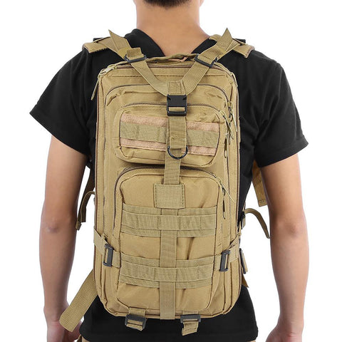 Unisex Backpack Outdoor Military Tactical Trekking Travel Camping Hiking Camouflage