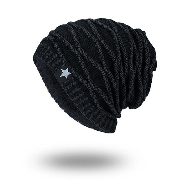 Unisex Adult's Knitting Cap Winter Autumn Soft Skull Desing