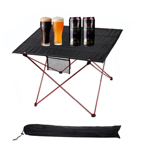 Outdoor Camping Table Aluminium Alloy Picnic Waterproof Ultra-light Durable Folding Desk For Picnic&