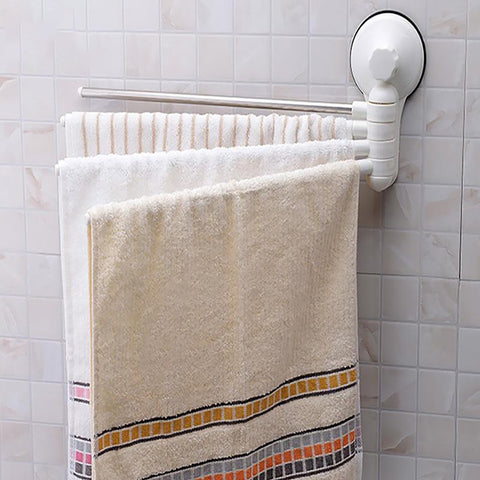 Rotation Towel Rack 4 Layers Simple Design Folding for Activities Bar Bathroom Accesories