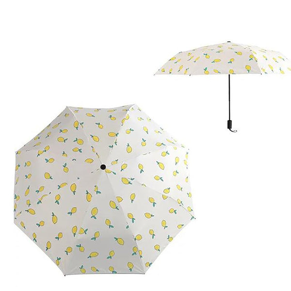 Rain Umbrella Folding Lemon Banana Style