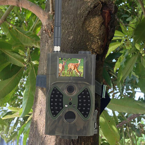 Trail Camera HC-300M Full HD 12MP 1080P Video Night Vision MMS GPRS Infrared