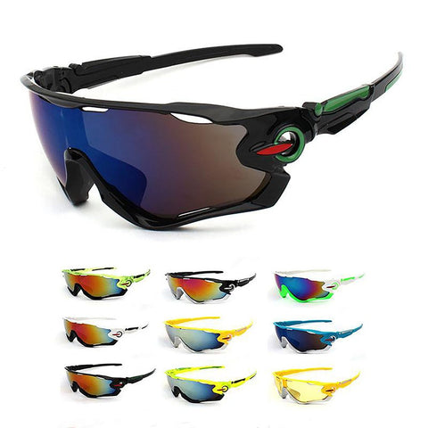 Unisex Adult's Sport Sunglasses for Outdoor Fishing Mountain Bike Motorcycle