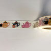 Jiataihe Cats Washi Tape Cat Sticker Kawaii Stationery Halloween Tapes Adhesive Tape Scrapbooking
