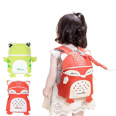 New SUNVENO ToddlerBaby Harness Backpack Cute Fashion Children Backpacks 3D Animal Prints Mochila High Quality
