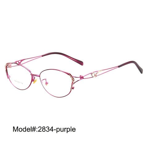 Women's Spectacles Frame Full Rim Fashionable Elegant